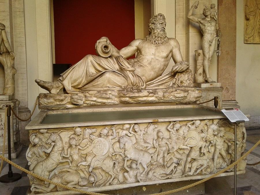 Ancient Roman River god