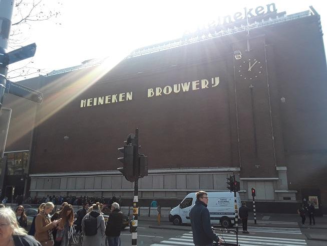 Heineken Brouwery in Amsterdam
