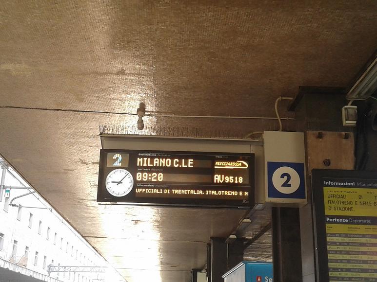 Train Bin Area