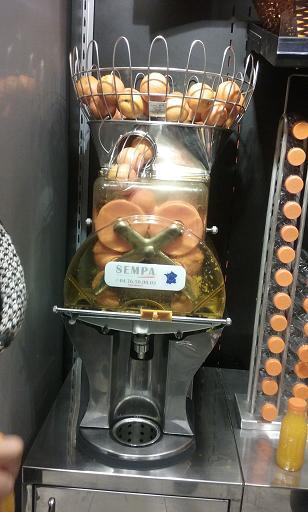 Orange Juice Machine Fresh