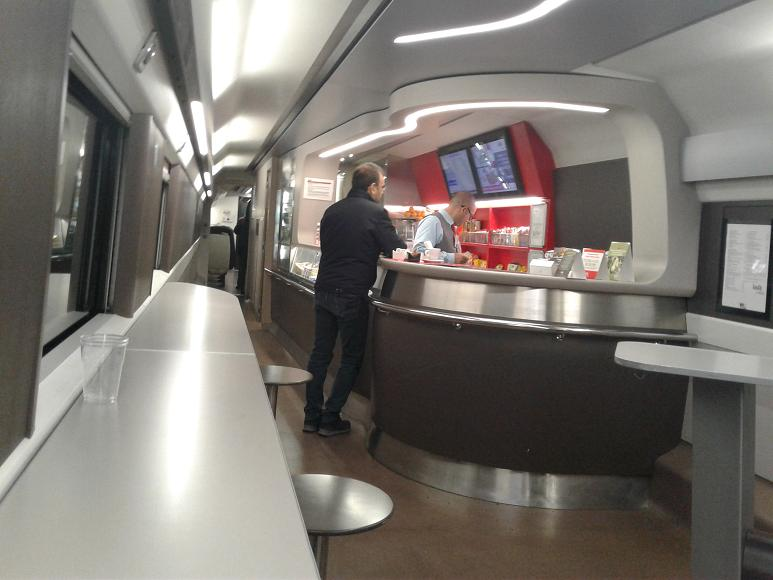 Train Cafe Car