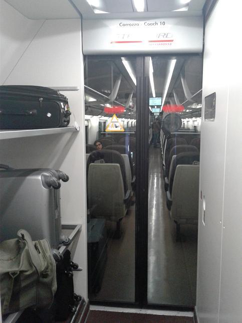 Train Luggage Area